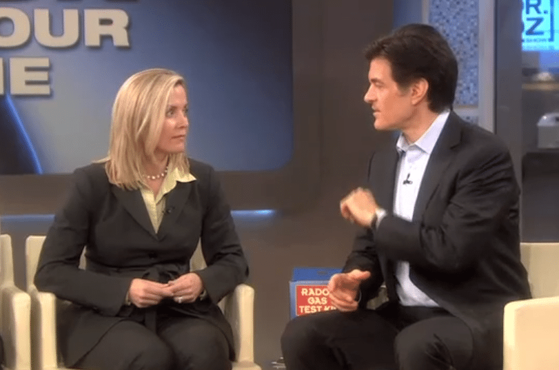 Rebecca Morley and Dr. Oz