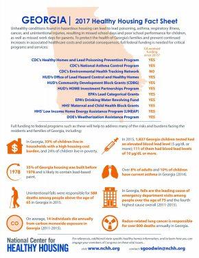 Georgia 2017 Healthy Housing Fact Sheet