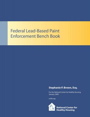 Federal Lead-Based Paint Enforcement Bench Book