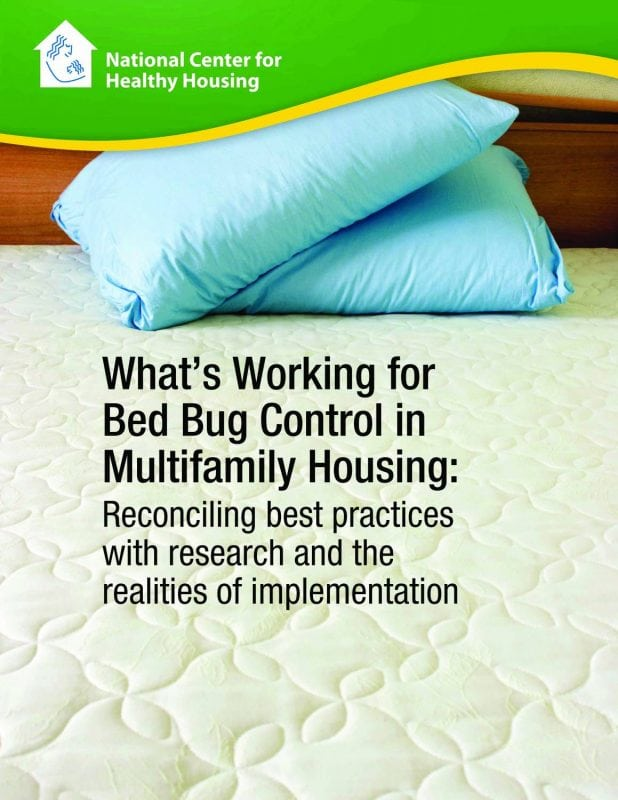 What's Working for Bed Bug Control in Multifamily Housing