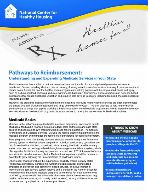 Pathways to Reimbursement: Understanding and Expanding Medicaid Services in Your State
