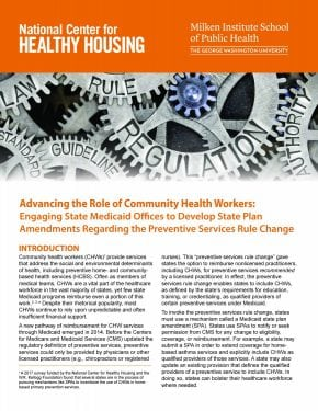 Advancing the Role of Community Health Workers