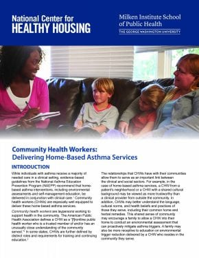 Community Health Workers: Delivering Home-Based Asthma Services