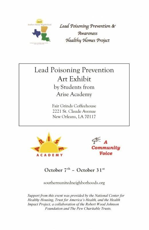 Lead Art Program