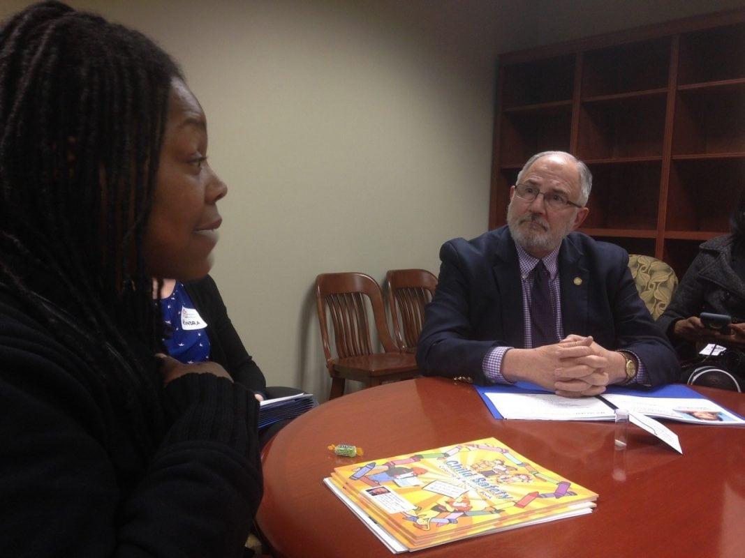 Taquita Culbreth Shares Her Story with a Michigan Legislator