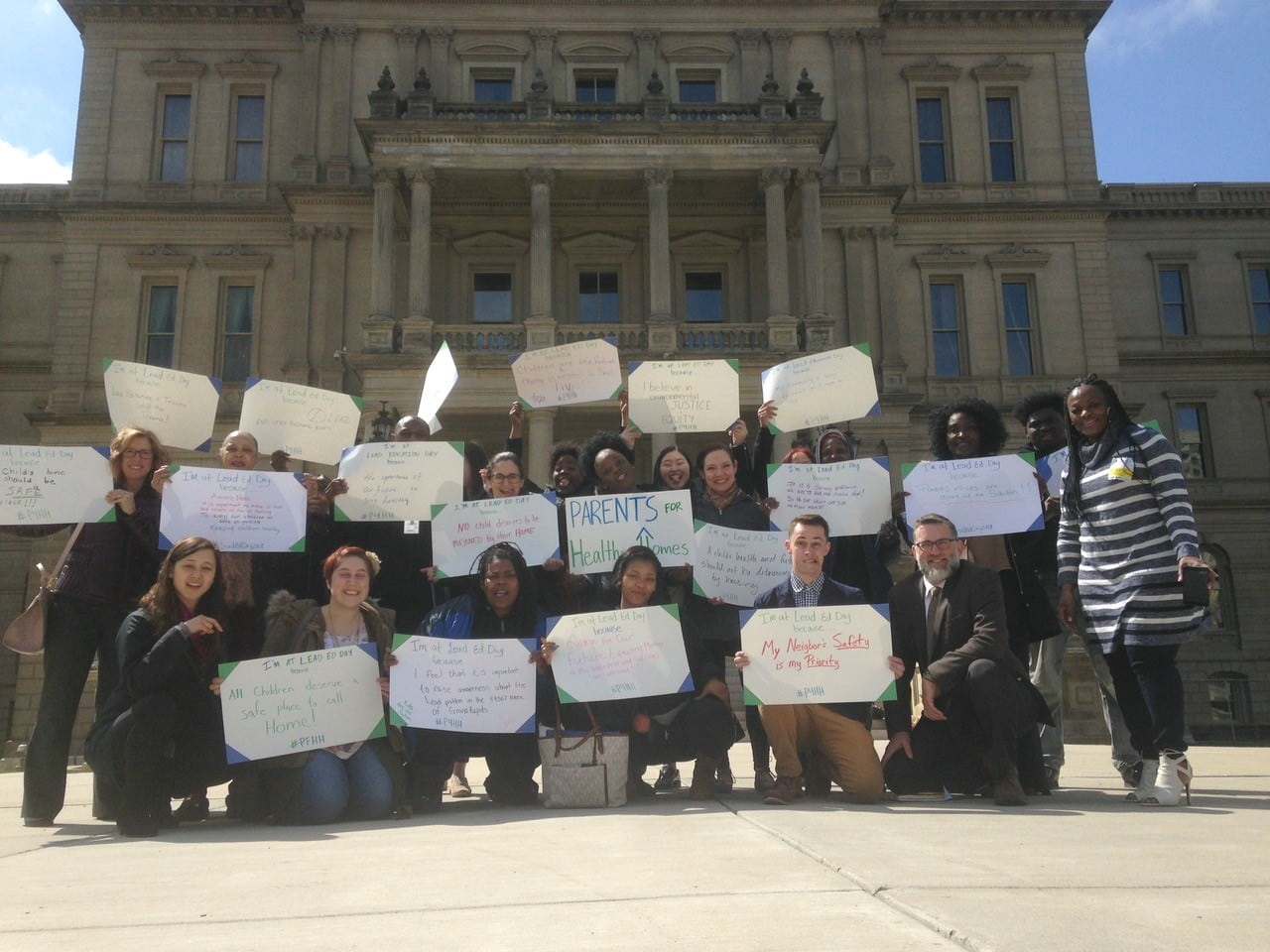 Parents for Healthy Homes at the Michigan State Capitol