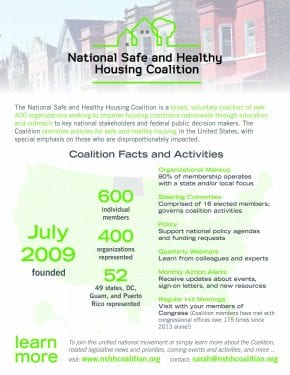 NSHHC Coalition Facts and Activities