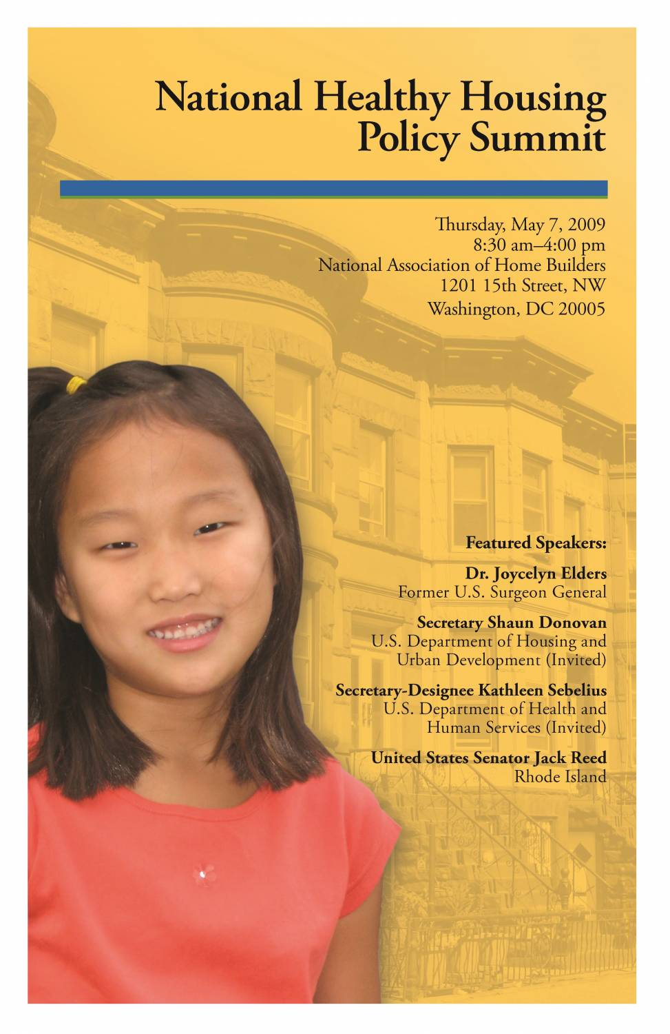 National Healthy Housing Policy Summit Program