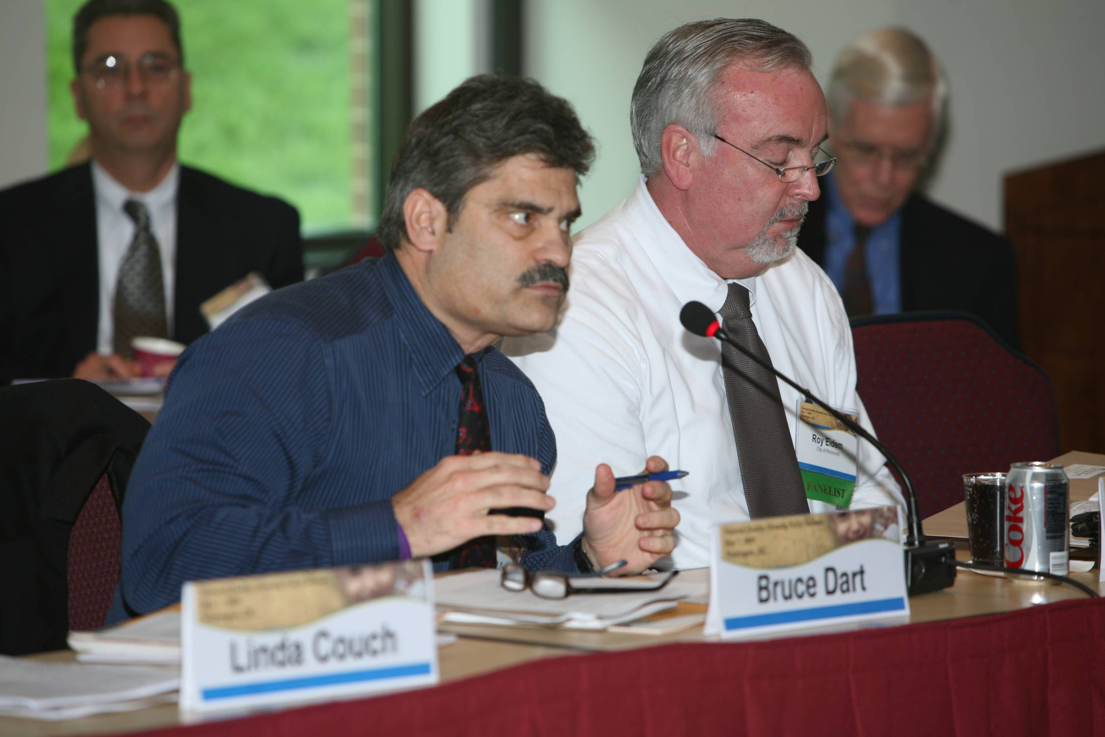 Bruce Dart, Lincoln-Lancaster County Health Department; Roy Eidem, City of Richmond