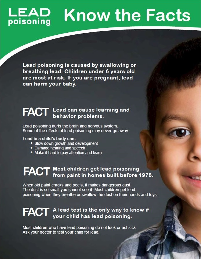 Lead Poisoning: Know the Facts