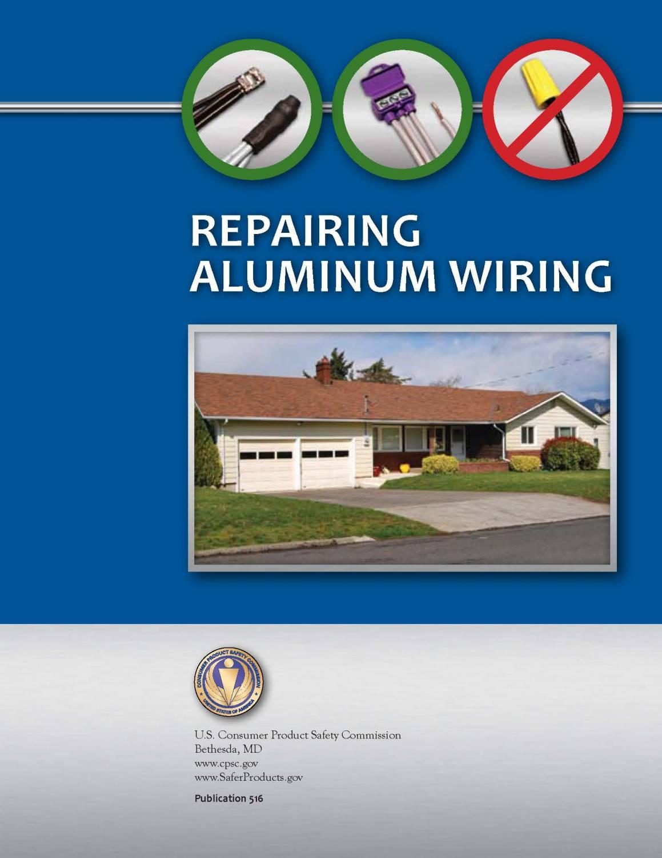 Repairing Aluminum Wiring