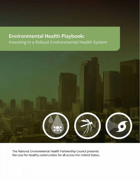 Environmental Health Playbook: Investing in a Robust Environmental Health System