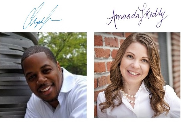 Christopher Jones and Amanda Reddy