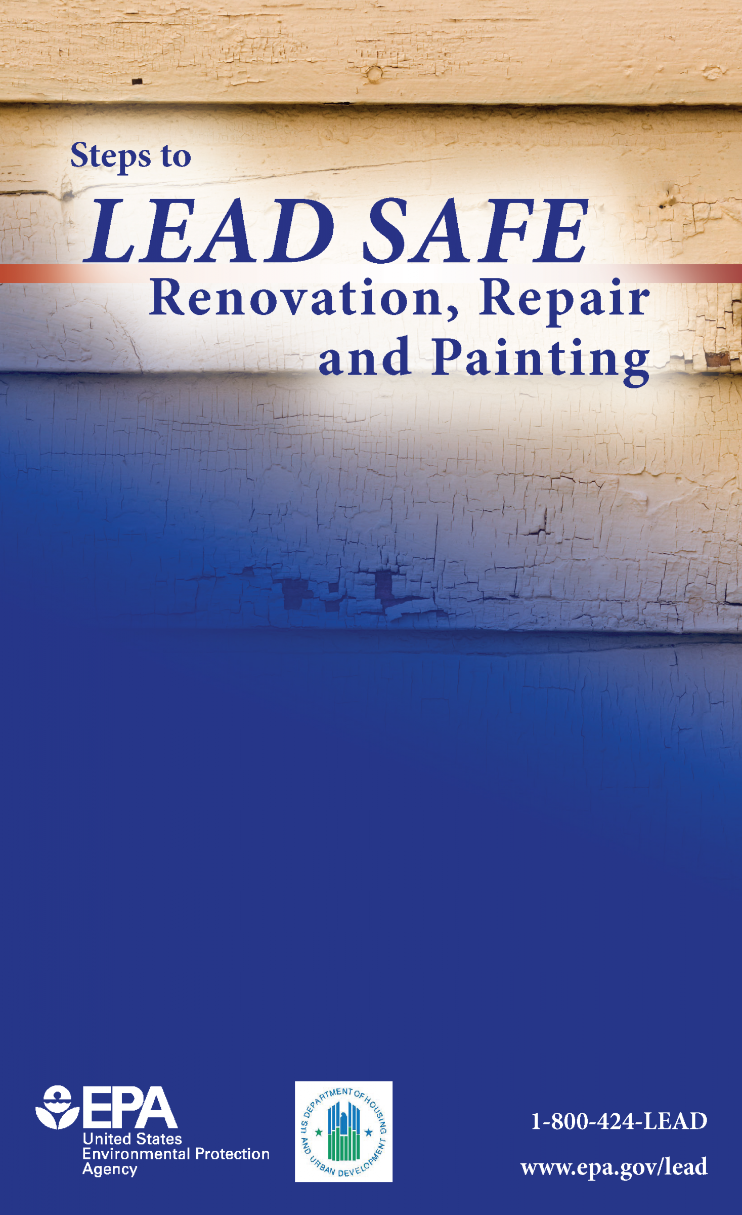 Steps to Lead Safe Renovation, Repair and Painting