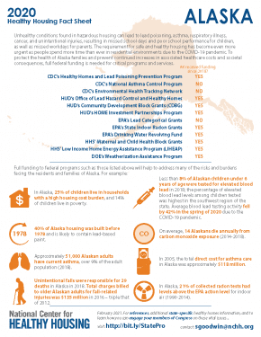 Healthy Housing Fact Sheet - Alaska 2020