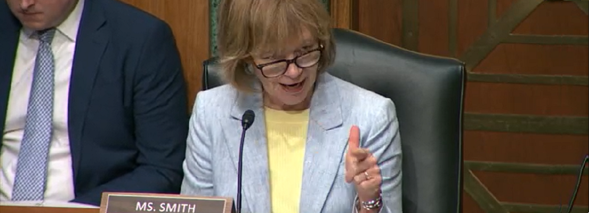 Chair Tina Smith Leads SenateHearingon Fire Safety, Home Health Risks Including Lead and Radon